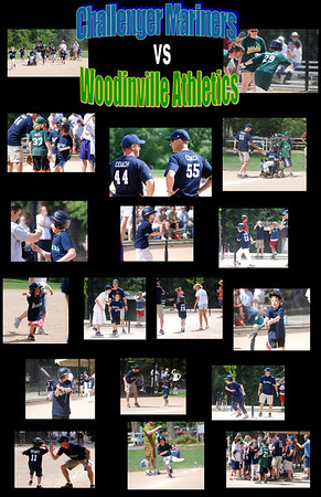 Challenger Mariners vs Woodinville Athletics 31 May 09