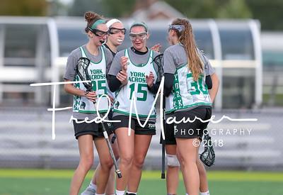 10/13/2018 Fall Play Day - YCP Women's Lacrosse vs  Dickinson & ESU
