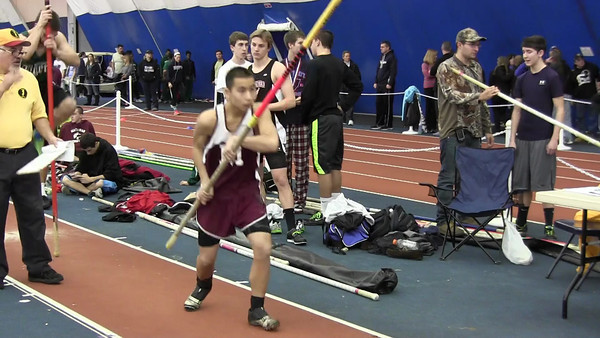 2012 Winter Track Merli Invitational @ Bennett Indoor Complex