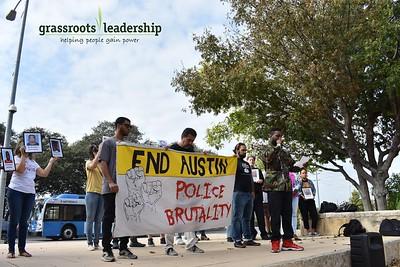 #TakeAKnee Against Austin Police Brutality — October 19, 2017