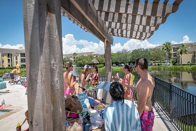 Jessica's Pool Party 8-19-18