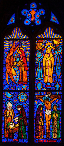Etrapagny, Saint-Gervais-Saint-Protais Annunciation, Nativity, Crowning of The Virgin and The Crucifxion