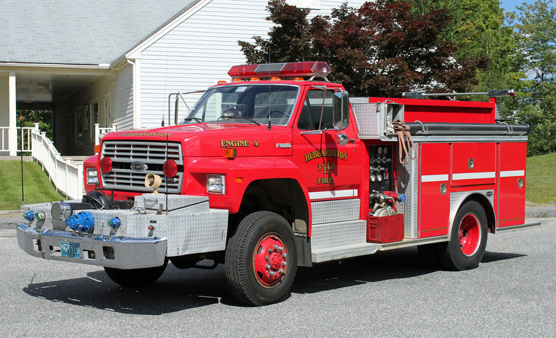 Engine 4 1989 Ford / E-One 1000/500