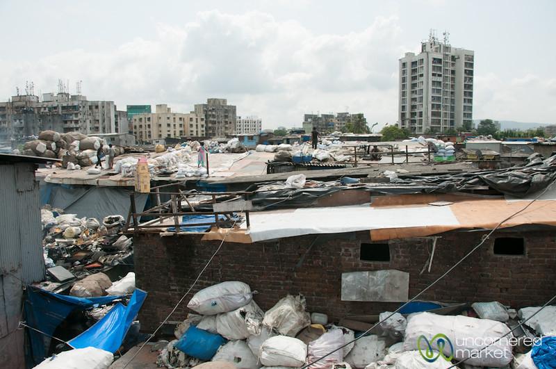 Dharavi Slum Rooftop - Mumbai, India