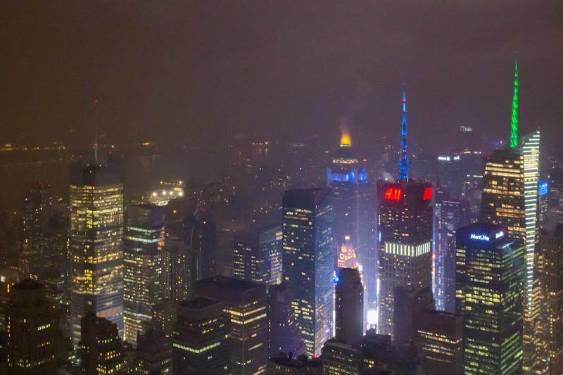 Smeary New York