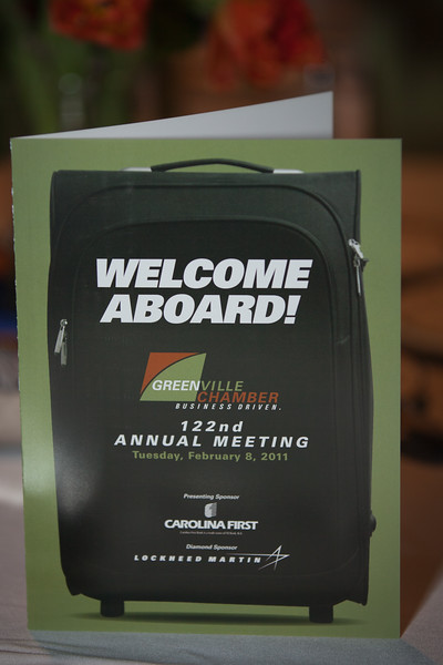 Greenville Chamber of Commerce- 122nd Annual Meeting