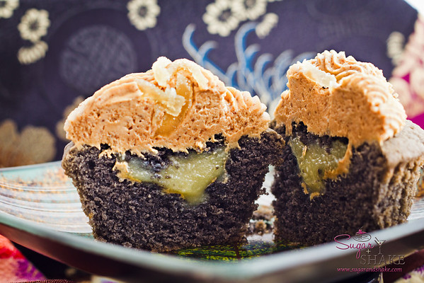 Kuro Kuro Ginger Cupcakes