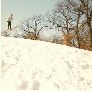 Wirth Park Ski Jump:  Minneapolis, MN: Various Years