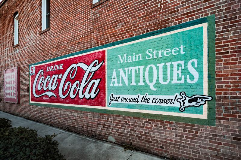 GA, Hiram - Coca-Cola Wall Sign 03