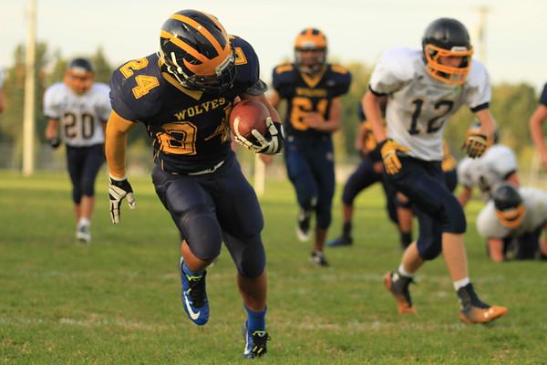 Freshman Football 9-26-2014