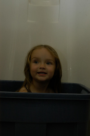 Bath in the Motor Home 2009
