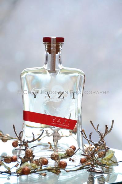 Yazi Ginger Vodka - Cheri Loughlin Wine & Spirits Stock Photography