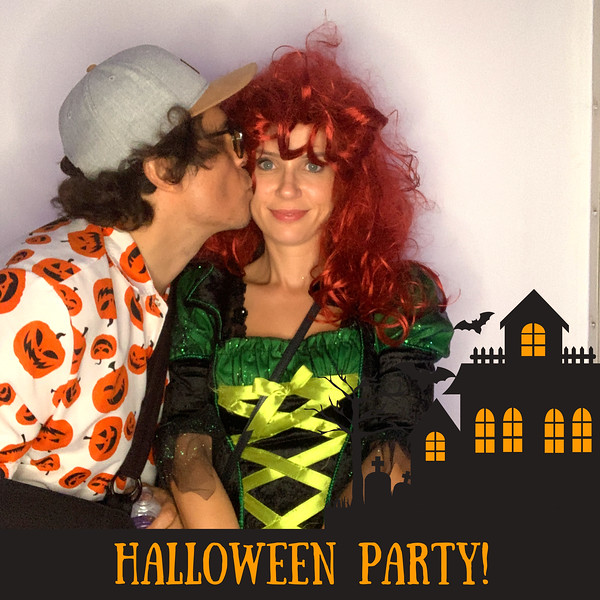 HALLOWEEN PARTY GIO & AGATA - SOCIAL BOOTH