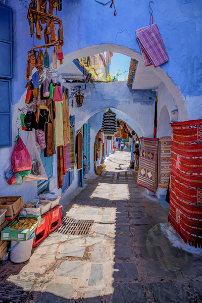 Colors of Chefchaouen