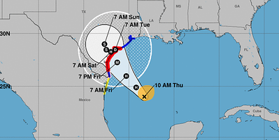 east-texas-prepares-as-hurricane-harvey-bears-down-on-the-texas-gulf-coast