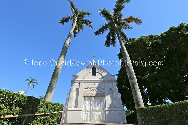 SOUTH AFRICA, KwaZulu-Natal, Durban. Stellawood Jewish Cemetery (3.2013)