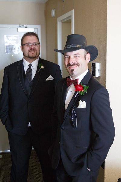 Grooms Portraits - Laura and Jason Wedding