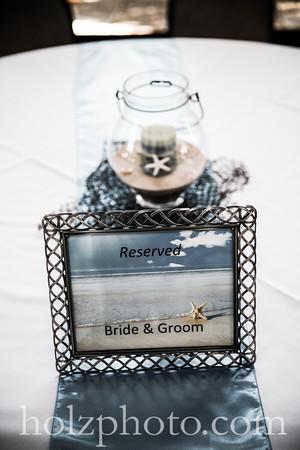 Delta & Dustin Creative Wedding Photos