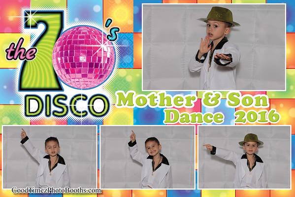 Mother & Son Disco Dance 2016