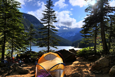 2008 - Backpacking Eightmile Lake