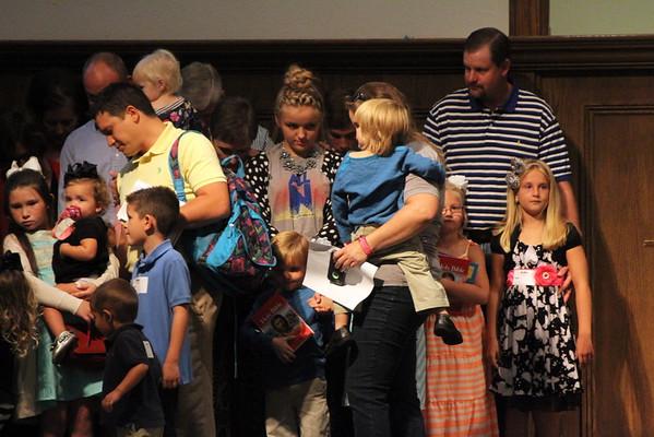 2015 kinder Bible presentatons