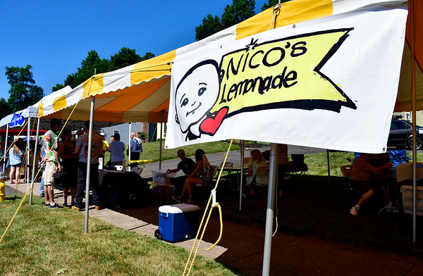 7/13/2019 Mike Orazzi | Staff Nico's Lemonade Stand on Northwest Drive in Plainville on Saturday.