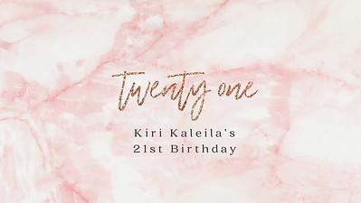 01.05 Miss Kiri turns 21