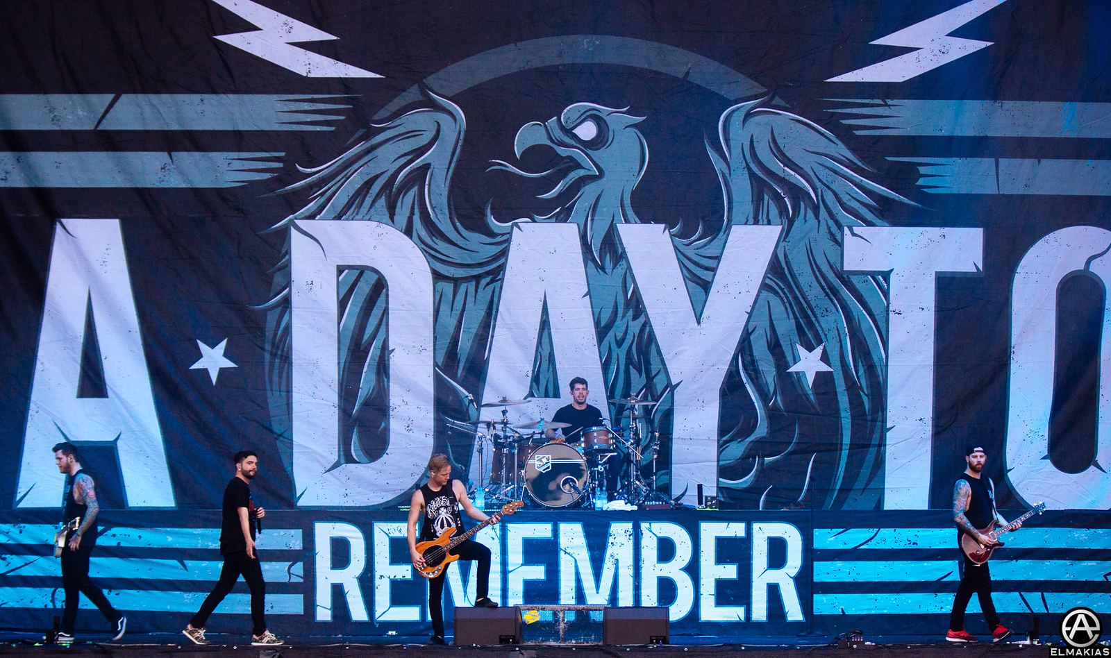 A Day To Remember live at Greenfield Festival in Interlaken, Switzerland