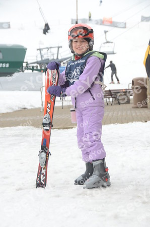 Tiny Tots Ski School 3-24-13