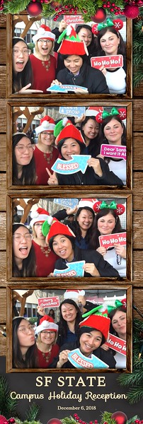 SF STATE Campus Holiday Party 2018