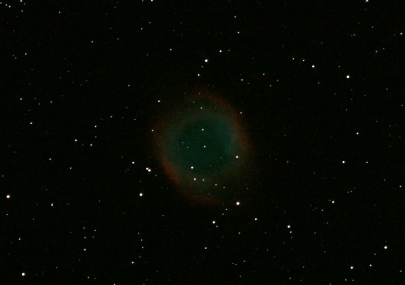 Caldwell 63 - NGC7293 - Helix Nebula - 8/9/2012 (Processed cropped stack)