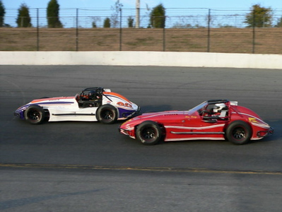 """North/South Shootout 2005 - Vintage Racers, """"Pit Party,"""" and Thunder Roadsters"""