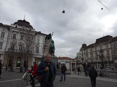 Ljubijana, Slovenia - January, 2014
