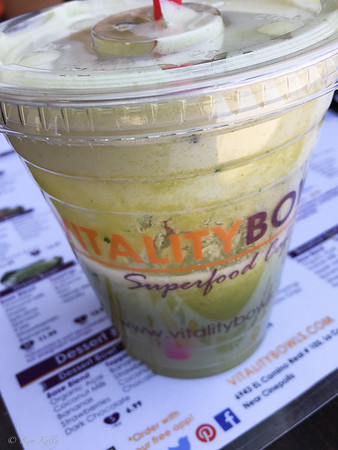 Vitality Bowls Superfood Cafe, Carlsbad, CA - The Rehydrator