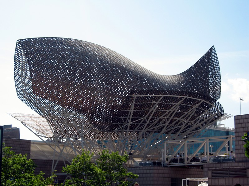 Peix (Fish), by architect Frank Gehry
