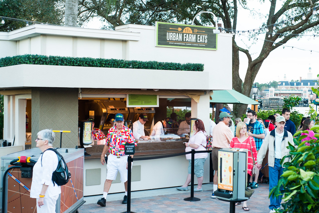 Urban Farm Eats Food Kiosk - Epcot Flower & Garden Festival 2016