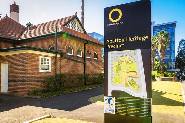 Sydney Olympic Park : Abattoir Heritage Precinct
