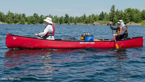 Georgian Bay Canoe Trip Jun 2020