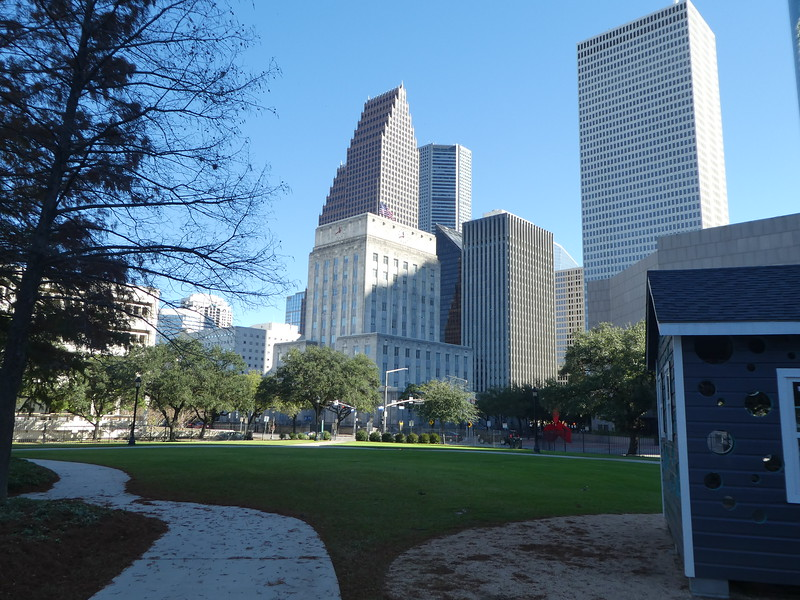 Houston TX Skyline