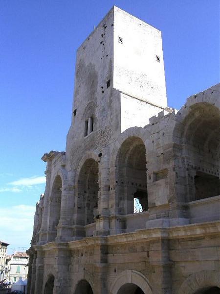 Ampitheatre in Arles
