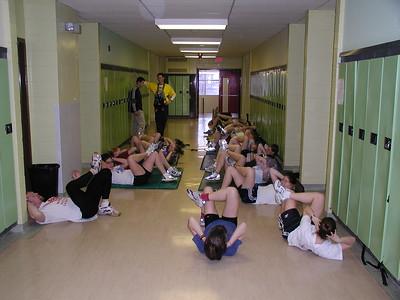 Stage Training Lockerby'02
