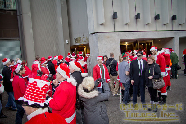 Santarchy at Westin, Westlake and beyond