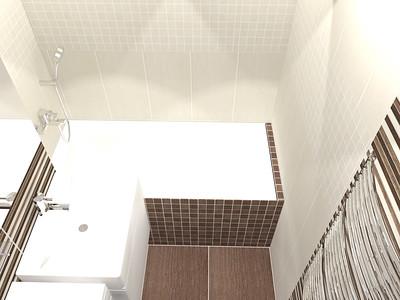 Koupelna v garsonce