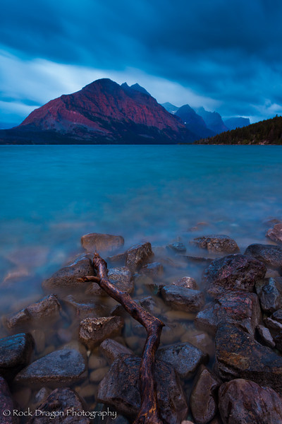St. Mary Lake in Glacier National Park, Montana.