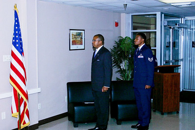 Retiring An NCO At Lackland AFB