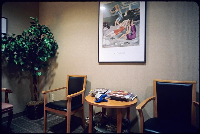 Psychiatrist's office [Steven S. Schenkel, Ph.D.], Los Angeles, 2004