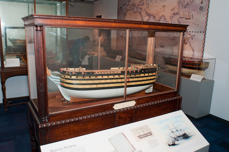 2009-10-03 - USNA Museum - 161 - Royal Adelaide - 100-Gun Ship of 1825 - _DSC7562.jpg