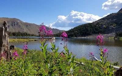 Diamond Lake via Arapaho Pass