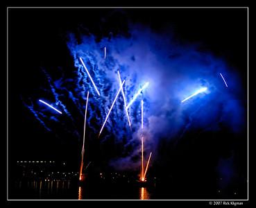 Paradise Point Fireworks 2007 - San Diego