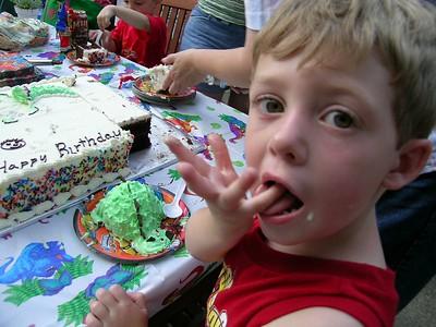 Justin's 3rd Birthday
